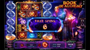 Book of Alchemy Free Spins