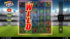 Football Star Deluxe Wild