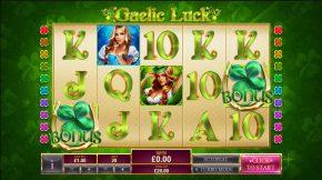 Gaelic Luck Bonus
