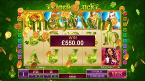 Gaelic Luck Mega Win