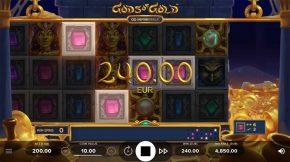 Gods of Gold Infinireels Game Line