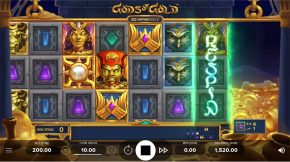 Gods of Gold Infinireels Game Respin
