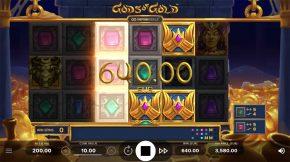 Gods of Gold Infinireels Game Win