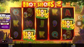 Hot Shots 2 Bonus