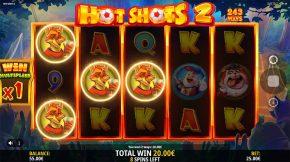 Hot Shots 2 Bonus Line
