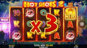 Hot Shots 2 Bonus Myltiplier