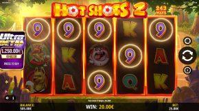 Hot Shots 2 Gameplay