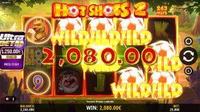 Hot Shots 2 Gameplay Win