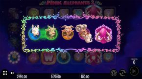 Pink Elephants 2 Bonus Wild