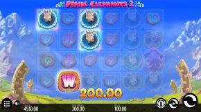 Pink Elephants 2 Line