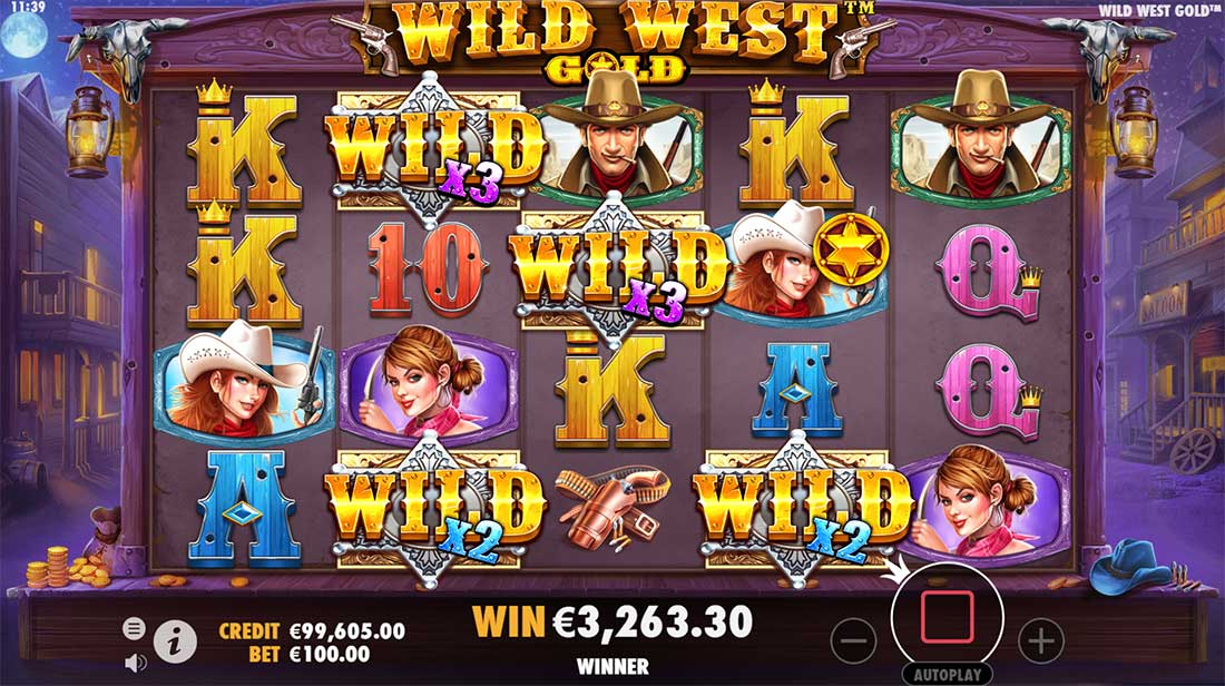 Wild West Gold Bonus Wild