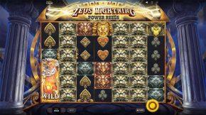 Zeus Lightning Power Reels Sumbol