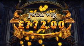 Zeus Lightning Power Reels Total Win