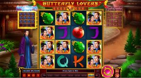 Butterfly Lovers Free Spins