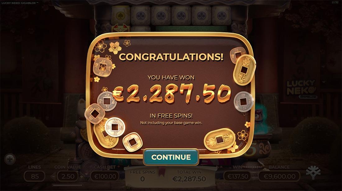 Lucky Neko Gigablox Slot - Demo Play, Review & Bonus Codes Slots Tube