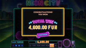 Neon City Total Win