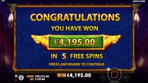 Bronco Spirit Total Win