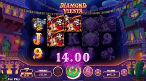 Diamonds Fiesta Win