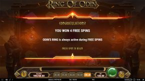 Ring of Odin Free Spins