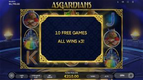 Asgardians Free Spins