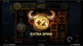 Blazing Bull Extra Spins