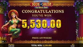 Book of Sheba Total Win