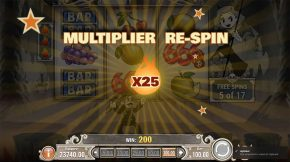 Charlie Chance in Hell Pay Multiplier