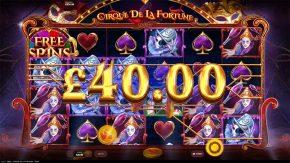 Cirque De La Fortune Line
