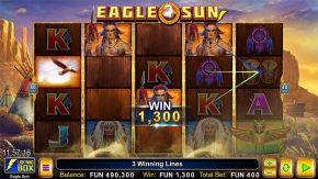 Eagle Sun Sumbol