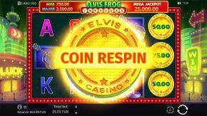 Elvis Frog in Vegas Bonus