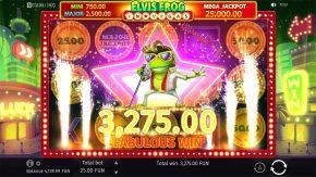 Elvis Frog in Vegas Mega Win