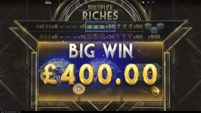 Multiplier Riches Big Win