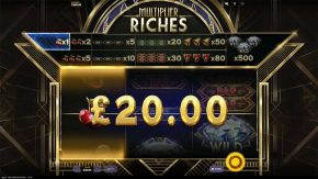 Multiplier Riches Gameplay
