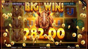 Rhino Rampage Win