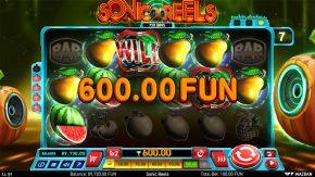 Sonic Reels Win