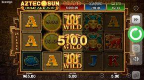 Aztec-sun-ace-win