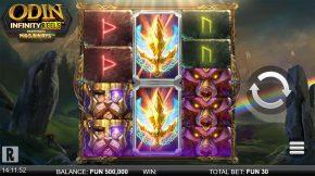 Odin-Infinity-Reels-Megaways-gameplay