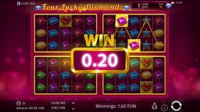 four-lucky-diamonds-feature-win