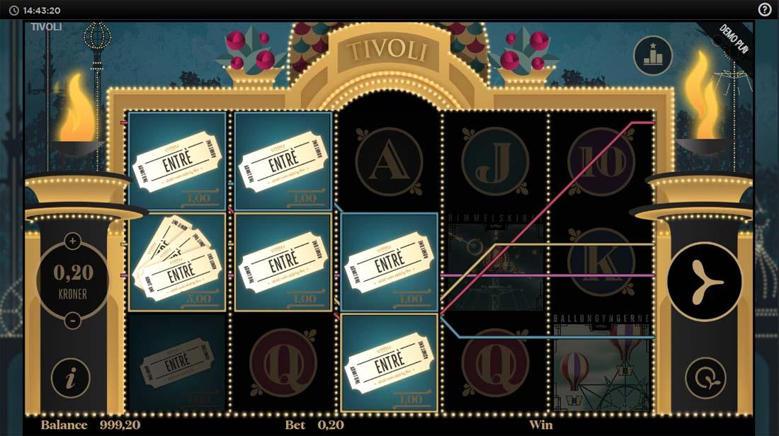Tivoli Casino Code